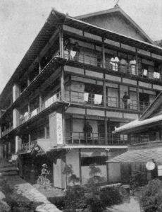 大正末頃のえびす屋旅館