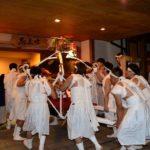 湯平白熊(はぐま)まつり(谷川神社秋季大祭)